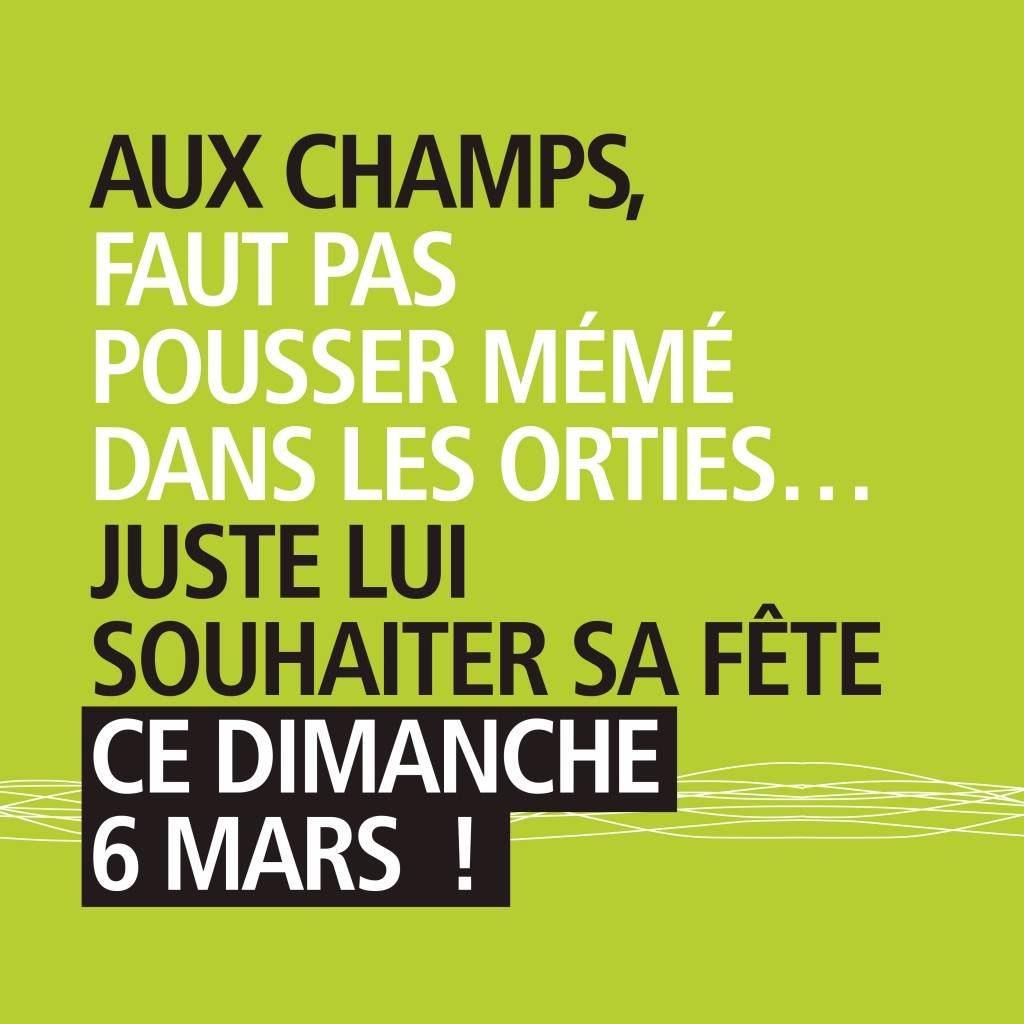 Visuel Les Champs Fête des Grands-Mères