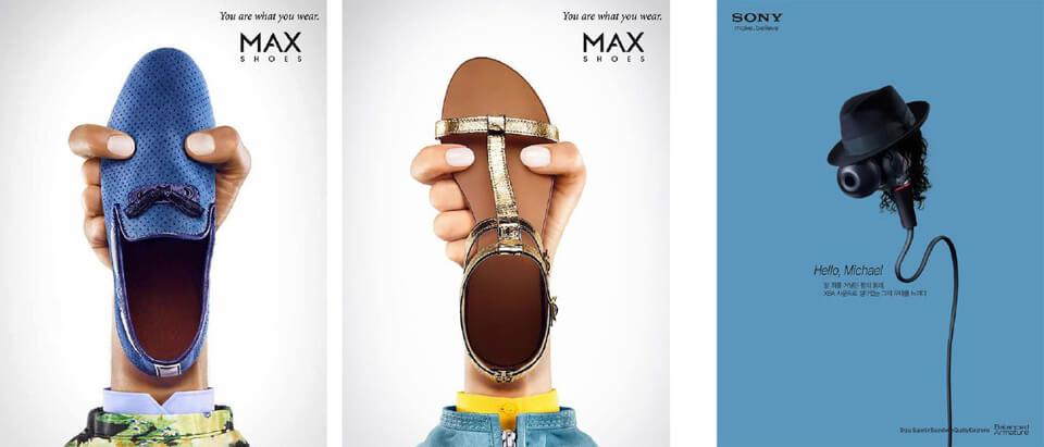 """Publicités """"Humaniser l'objet"""""""