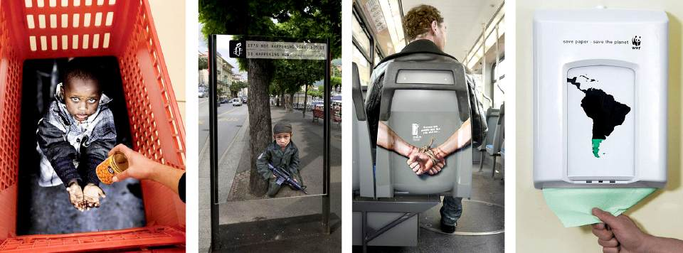 Actions engagées de Street Marketing