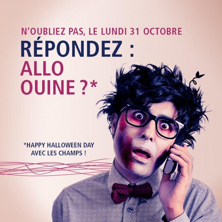 Post Facebook halloween - Les Champs