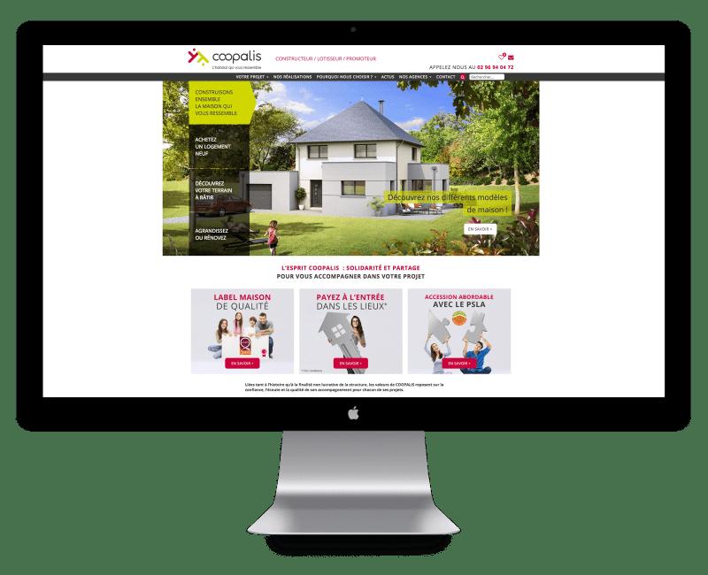 Site internet de Coopalis